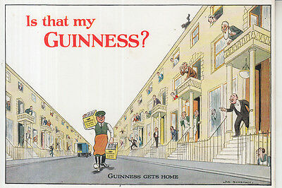 VINTAGE GUINNESS POSTCARD ..Is that my Guinness.. ORIGINAL,