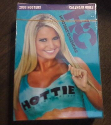 Hooters Hotties Playing Cards 2008 Deck Girls of Calendar NEW SEALED