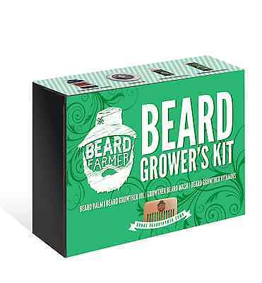 Ultimate Beard Growers Kit - Naturally faster beard growth in every kit