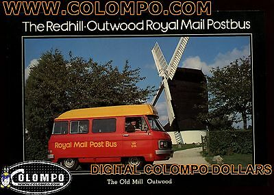 Postcard: Royal Mail Postcard - The Redhill-Outwood Postbus Unused