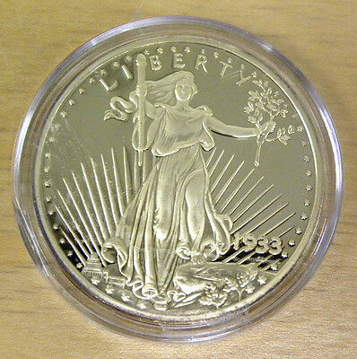 1933 Double Eagle Gold Coin Proof Uncirculated Copy St. Gaudens Design with COA