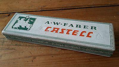 Vintage A W Faber Castell 900 6H Pencils Boxed New Old Stock