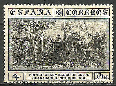 Spain 1930 - Columbus Arriving America - Discovery of America 1942 - 4 Pts 1938
