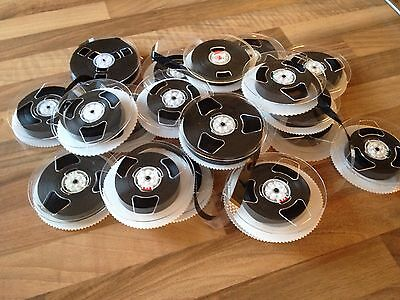 40 Spools Of Vhs Film , Weaving , Crocheting Upcycle Knitting Not Wool Upcycled