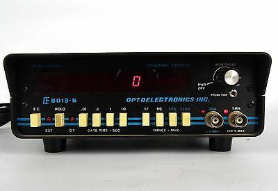 Optoelectronics Frequency Counter E 8013-S Red LED Tested 60 Day Warranty