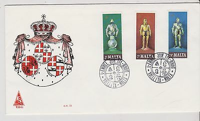 Malta  - FDC COVER 1977 - Suits of Armour - (G09)