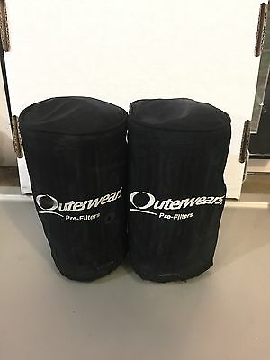 Yamaha Banshee K&N Pod Air Filters With Outerwear Prefilters