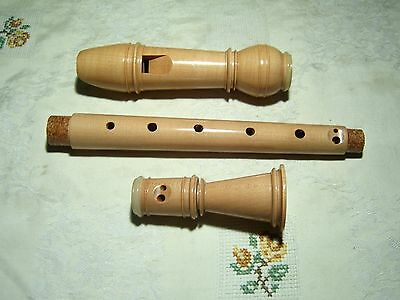Moeck Meisterstueck  Alto / Treble Recorder, with Horn Rings, No Signs of Use