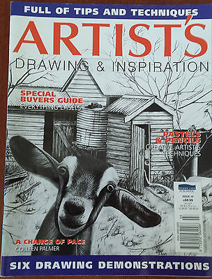 Artist's Drawing & Inspiration Magazine Issue 15 ISSN 2200-5625 03