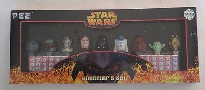 Star Wars PEZ Collectors Set Near Mint Limited Edition #015729 2005 New & Sealed