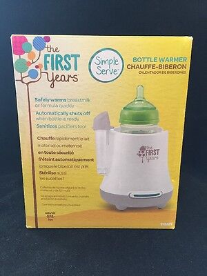 The First Years Quick Serve Baby Bottle Warmer, New