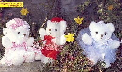 Teddy Bear Crafts - Clothes, Quilts, Cross-Stitch, Toy Box, Painting, Etc.