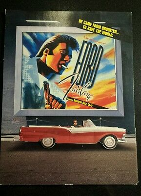 The Adventures Of Ford Fairlane Movie Press Kit Andrew Dice Clay (Complete)