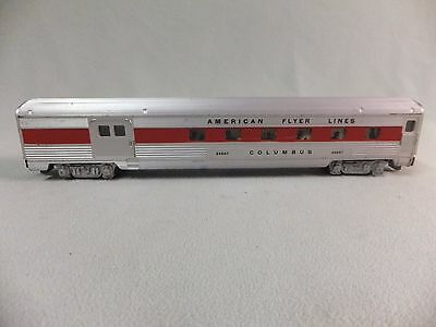 American Flyer 24867 Streamlined Combination car
