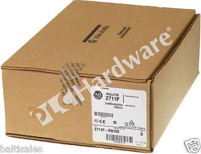 New Sealed Allen Bradley 2711P-RN15S /B PanelView Plus ControlNet Communication
