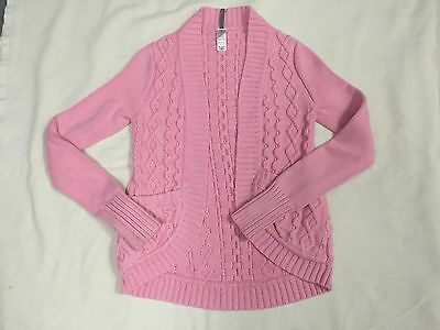 IVIVVA pink WARM and WONDERFUL cardi WRAP -- size 12