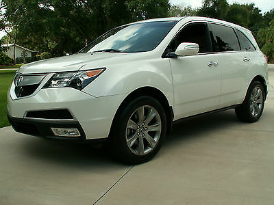 2012 Acura MDX Base Sport Utility 4-Door with Advance Package 2012 Acura MDX Sport Utility 4 Door / Advance Package with voice activation