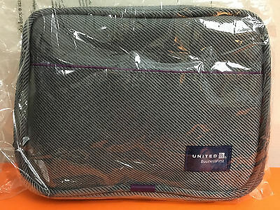 United Airlines Amenity Toiletry Travel Kit Bag Business First Class New