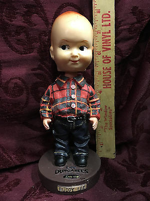 """Buddy Lee Bobblehead, Lee Dungarees 1889 """"Can't Bust Em"""""""
