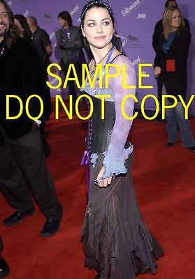 #D3816 AMY LEE Evanescence CANDID Photo THOSE EYES!!