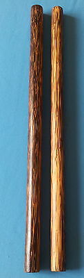 "2 Bahi sticks Palm wood ironwood 20""(51 cm) escrima Arnis Serrada Philippines"
