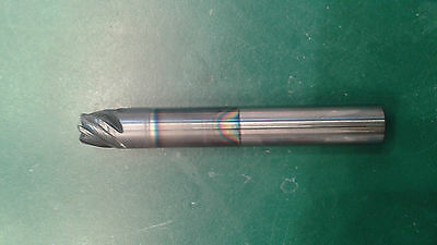 solid carbide  end mill .375 flat 6 Flute GREAT for Bridgeports!!!