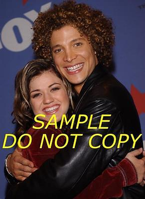 #s591 Kelly Clarkson Justin Guarini Hot Candid Photo