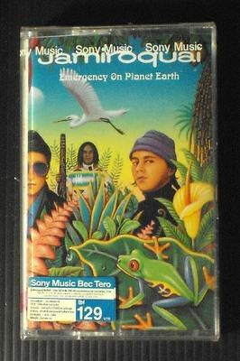 Jamiroquai Emergency On Planet Earth Thai Edition Cassette Seal 2.99 USD S&H