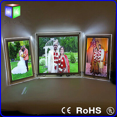A4 led sign for wedding photo frame advertising display