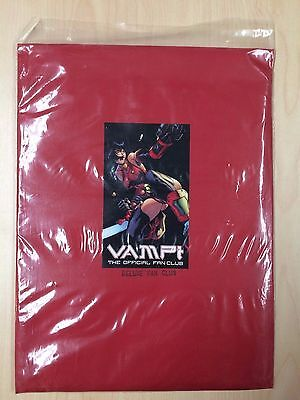 Vampi Official Deluxe Fan Club Packet Poster Kevin Lau Sketchbook Signed Anarchy