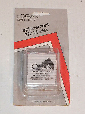 Logan 270 Replacement Blade 100 pack