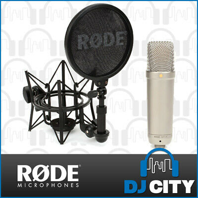 RODE NT1-A Studio Condenser Microphone Pack for Vocal Recordings