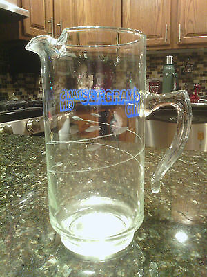 Seagrams Gin Glass Decanter