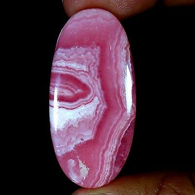 75.75Cts. 100% NATURAL MAGNIFICENT RHODOCHROSITE OVAL CABOCHON QUALITY GEMSTONES