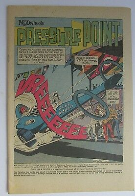 # 7 Mod Wheels 1973 Coverless Comic - Pressure Point Gold Key / Western Publish