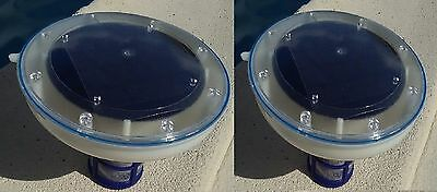 Hilltop Solar Pool & Spa Ionizer -2 Units -Save money & time -Guarantee to work!