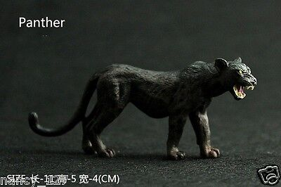 New Black Panther Wild Animal Model Figurine Collectible Figure Kids Toy