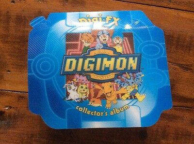 Digimon Digi-FX Collector's Album with 30 Cards