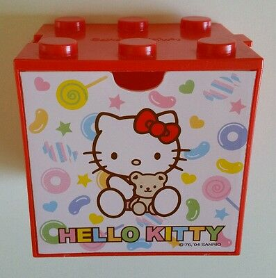 Hello Kitty Plastic Draw Candy Red