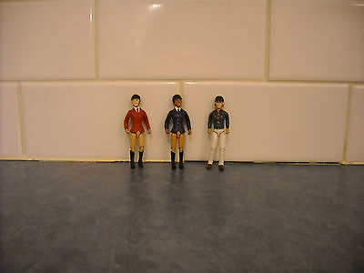 Lot Breyer Stablemate English Western Rider Jumper Articulated Head Arm Knee Leg