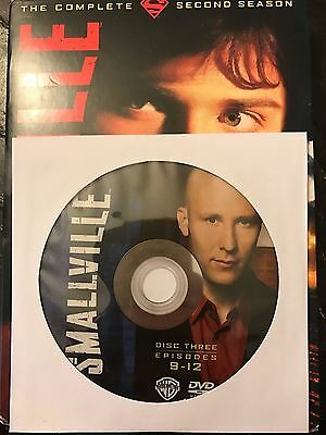 Smallville – Season 2, Disc 3 REPLACEMENT DISC (not full season)
