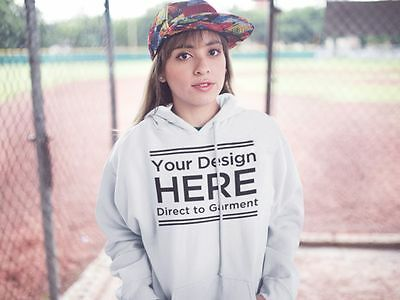 Print on Demand Direct to Garment Shirts Fulfillment DTG Customized Hoodie
