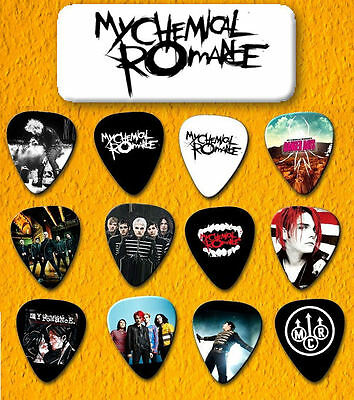 MY CHEMICAL ROMANCE -- Guitar Pick Tin includes 12 Guitar Picks *Limited Ed*