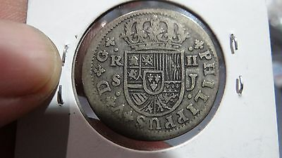 Spain  2 Reales Coin