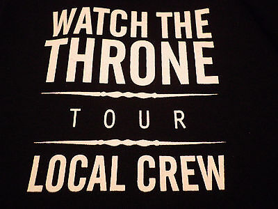 Jay-Z Kanye West Local Crew limited edition T-shirt Brand New/Never Worn