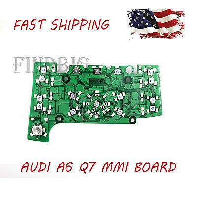 New MMI Multimedia Control Head Board E380 With Navigation for AUDI A6 Q7