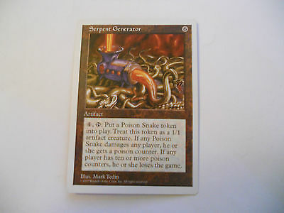 1x MTG Serpent Generator-Generatore di Serpenti Magic EDH 5th Quinta ed Base x1