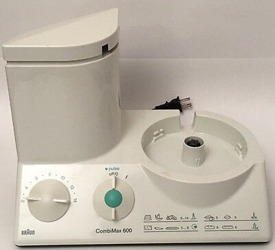Braun Combimax 600 / 3205 Food Processor MOTOR BASE Only Germany #507