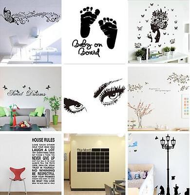 Best Removable Vinyl Wall Sticker Decal Mural DIY Room Art Home Decor cat Tree
