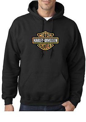 HARLEY DAVIDSON  HOODIE !! CLASSIC STYLE CYCLES   UNISEX SMALL-2XL  fatboy